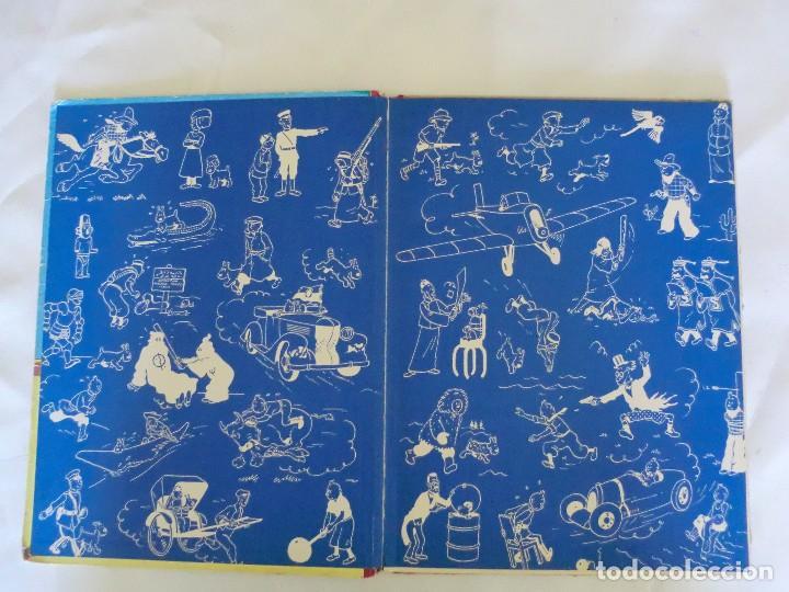 Cómics: LES AVENTURES DE TINTIN LE CRABE AUX PINCES D´OR. ED. 1957 B23 Casterman.Hergé.Francia.. - Foto 3 - 121234207