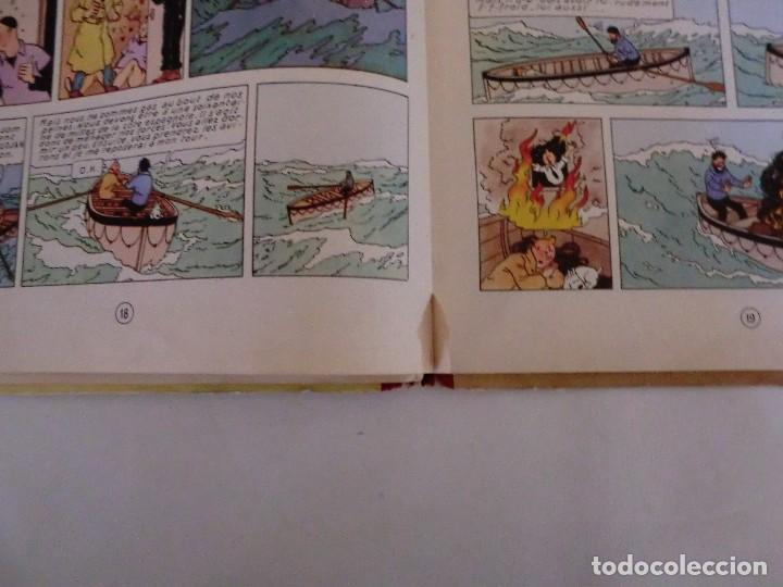 Cómics: LES AVENTURES DE TINTIN LE CRABE AUX PINCES D´OR. ED. 1957 B23 Casterman.Hergé.Francia.. - Foto 7 - 121234207