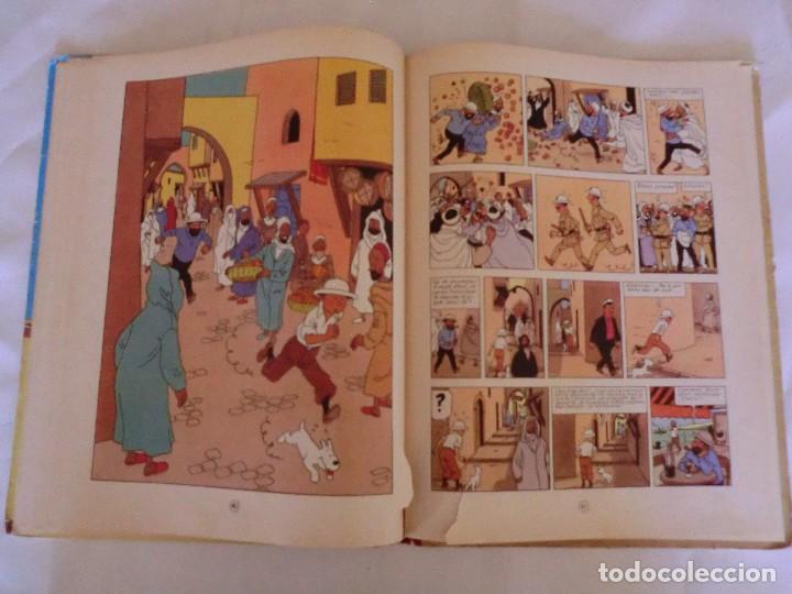 Cómics: LES AVENTURES DE TINTIN LE CRABE AUX PINCES D´OR. ED. 1957 B23 Casterman.Hergé.Francia.. - Foto 8 - 121234207