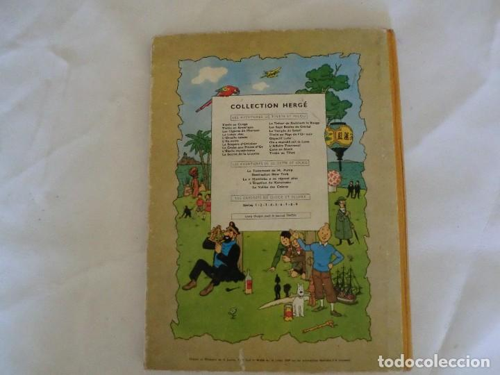 Cómics: LES AVENTURES DE TINTIN AU PAYS DE LOR NOIR. ED. 1960 B29 Casterman Hergé.Francia.. - Foto 2 - 121236279