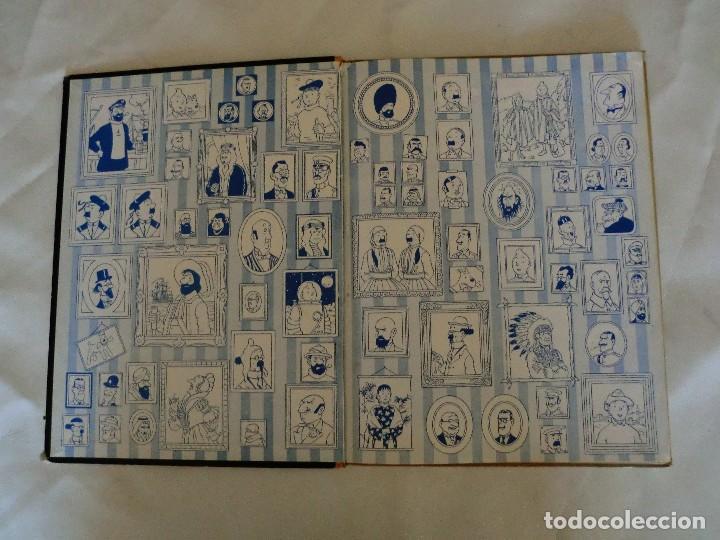 Cómics: LES AVENTURES DE TINTIN AU PAYS DE LOR NOIR. ED. 1960 B29 Casterman Hergé.Francia.. - Foto 3 - 121236279
