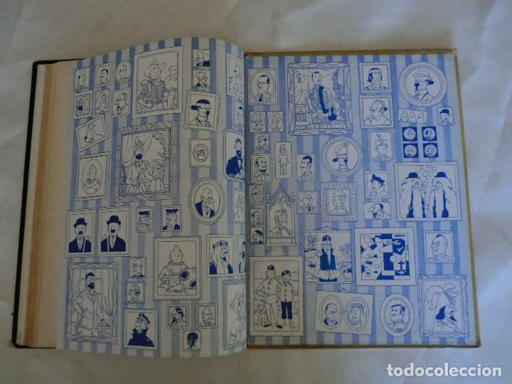 Cómics: LES AVENTURES DE TINTIN AU PAYS DE LOR NOIR. ED. 1960 B29 Casterman Hergé.Francia.. - Foto 6 - 121236279