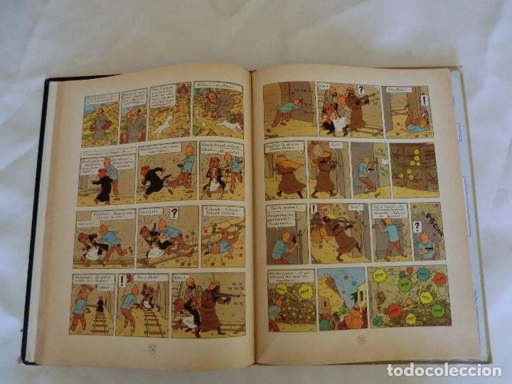 Cómics: LES AVENTURES DE TINTIN AU PAYS DE LOR NOIR. ED. 1960 B29 Casterman Hergé.Francia.. - Foto 7 - 121236279