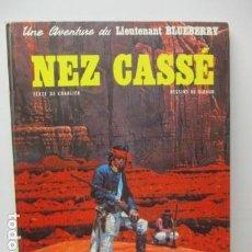 Cómics: LIEUTENANT BLUEBERRY (NEZ CASSE) TAPA DURA FRANCES . Lote 121808615