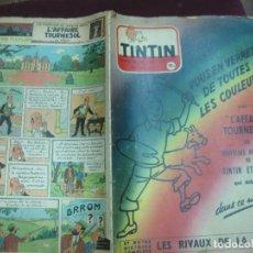 Cómics: JOURNAL TINTIN Nº 328. CON EL ASUNTO TORNASOL (L'AFFAIRE TOURNESOL).....PORTADA: HERGE FEBRERO 1955. Lote 122128775