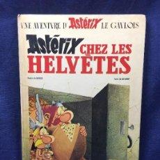 Comics : CÓMIC UNA AVENTURA DE ASTÉRIX EL GALO ASTÉRIX CHEZ LES HELVETES SEPTIEMBRE DE 1970 TEXTO GOSCINNY. Lote 122328539