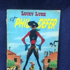 Cómics: TEBEO CÓMIC LUCKY LUKE Y PHIL DEFER LE FAUCHEUX DUPUIS MORRIS 1966. Lote 192517318
