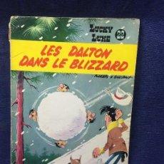 Cómics: TEBEO CÓMIC LOS DALTON LUCKY LUKE LES DALTON DANS LE BLIZZARD Nº 22 1965. Lote 122364551
