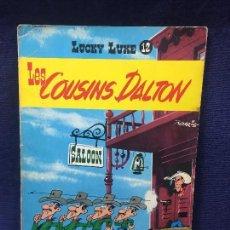 Cómics: LUCKY LUKE TEBEO CÓMIC LES COUSINS DALTON Nº 12 DUPUIS MORRIS 1964. Lote 192518456