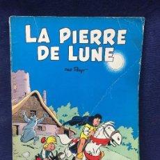 Cómics: TEBEO CÓMIC LA PIEDRA DE LA LUNA LA PIERRE DE LUNA PEYO AVENTURA JOHAN Y PIRLOUIT FRANCIA 1964. Lote 122510675