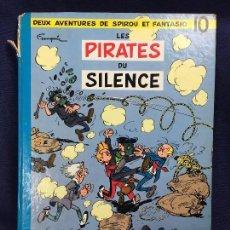 Cómics: AVENTURAS SPIROU Y FANTASIO LES PIRATES DU SILENCE Nº 10 DUPUIS FRANCIA 1964. Lote 122835843