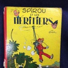 Cómics: TEBEO CÓMIC SPIROU ET LES HERITIERS DUPUIS FRANCIA 1962. Lote 122836139