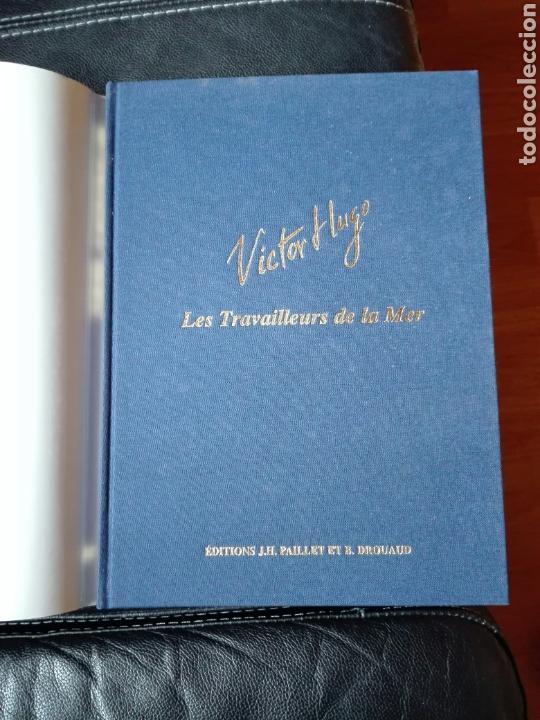 Cómics: Les travailleurs de la Mer. Víctor Hugo. Tomo 2. Idioma Francés. Novela gráfica. Cómics - Foto 2 - 123220402