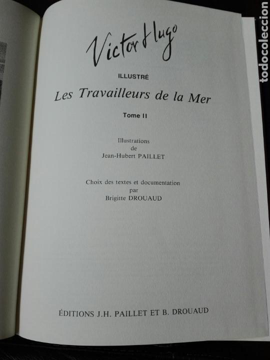Cómics: Les travailleurs de la Mer. Víctor Hugo. Tomo 2. Idioma Francés. Novela gráfica. Cómics - Foto 4 - 123220402