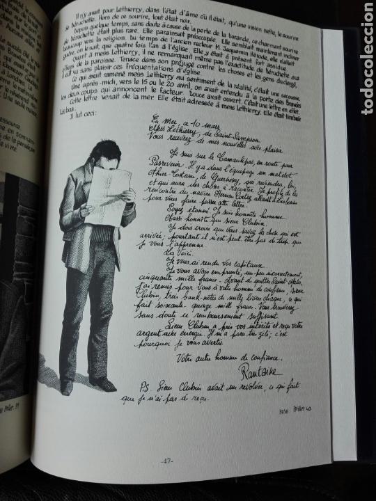 Cómics: Les travailleurs de la Mer. Víctor Hugo. Tomo 2. Idioma Francés. Novela gráfica. Cómics - Foto 5 - 123220402