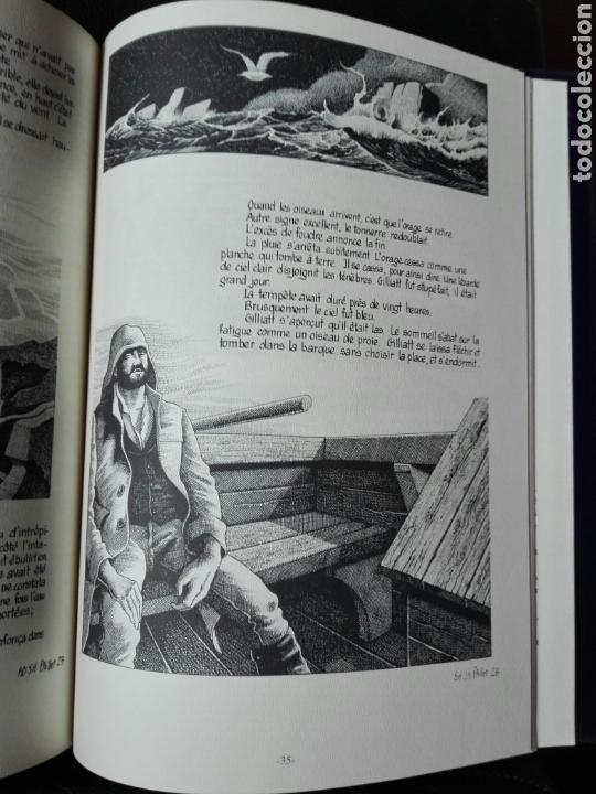 Cómics: Les travailleurs de la Mer. Víctor Hugo. Tomo 2. Idioma Francés. Novela gráfica. Cómics - Foto 6 - 123220402