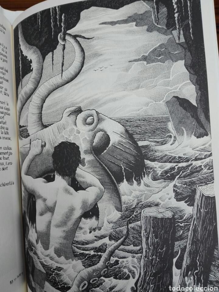 Cómics: Les travailleurs de la Mer. Víctor Hugo. Tomo 2. Idioma Francés. Novela gráfica. Cómics - Foto 7 - 123220402