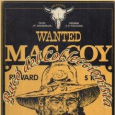Cómics: MAC COY, N. 5, WANTED MAC COY (EN FRANCES), GOURMELEN, PALACIOS, DARGAUD,1977. Lote 125125735