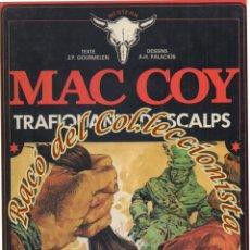 Cómics: MAC COY, N. 7, TRAFIQUANTS DE SCALPS (EN FRANCES), GOURMELEN, PALACIOS, DARGAUD,1978. Lote 125126719