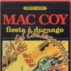 Cómics: MAC COY, N. 10, FIESTA A DURANGO (EN FRANCES), GOURMELEN, PALACIOS, DARGAUD,1982. Lote 125127287