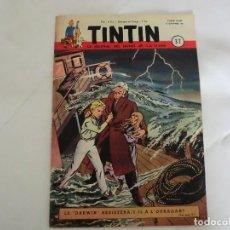 Cómics: TINTIN LE JOURNAL DE JEUNES DE 7 A 77 ANS.6º ANNÉE 1951 Nº 37 .ED.BELGA. Lote 125385763