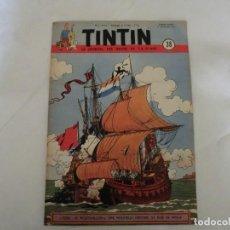 Cómics: TINTIN LE JOURNAL DE JEUNES DE 7 A 77 ANS.6º ANNÉE 1951 Nº 38 .ED.BELGA. Lote 125386039