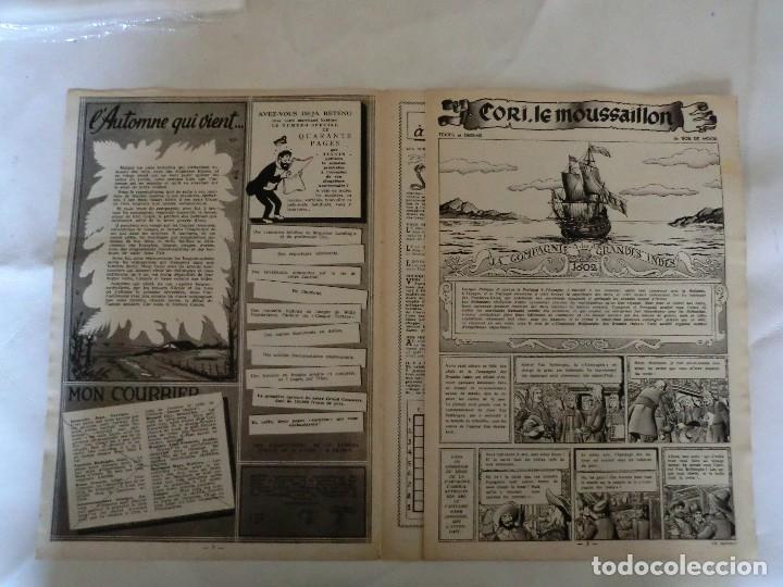 Cómics: TINTIN LE JOURNAL DE JEUNES DE 7 A 77 ANS.6º ANNÉE 1951 Nº 38 .ED.BELGA - Foto 3 - 125386039