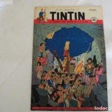 Cómics: TINTIN LE JOURNAL DE JEUNES DE 7 A 77 ANS. 6º ANNÉE 1951 Nº 40 .ED.BELGA. Lote 125386547
