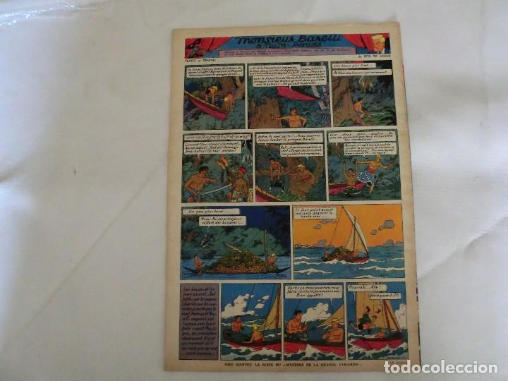 Cómics: TINTIN LE JOURNAL DE JEUNES DE 7 A 77 ANS. 6º ANNÉE 1951 Nº 40 .ED.BELGA - Foto 2 - 125386547