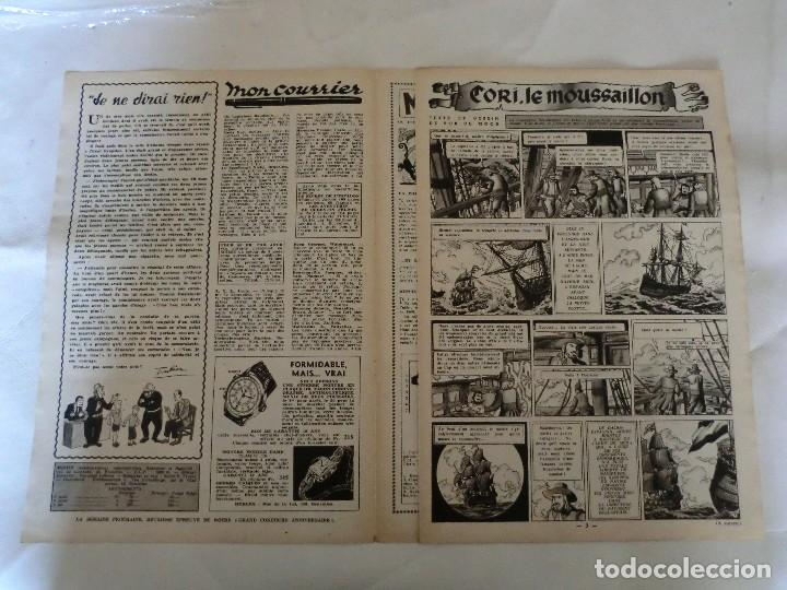 Cómics: TINTIN LE JOURNAL DE JEUNES DE 7 A 77 ANS. 6º ANNÉE 1951 Nº 40 .ED.BELGA - Foto 3 - 125386547