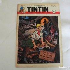 Cómics: TINTIN LE JOURNAL DE JEUNES DE 7 A 77 ANS.6º ANNÉE 1951 Nº 41.ED.BELGA. Lote 125386831