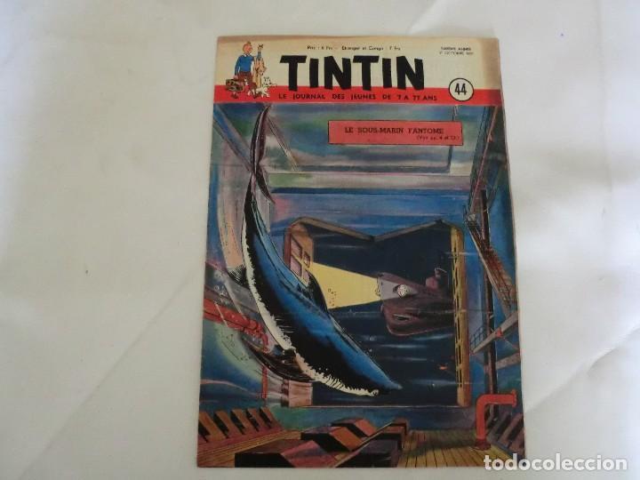 TINTIN LE JOURNAL DE JEUNES DE 7 A 77 ANS. 6º ANNÉE 1951 Nº 44 .ED.BELGA (Tebeos y Comics - Comics Lengua Extranjera - Comics Europeos)