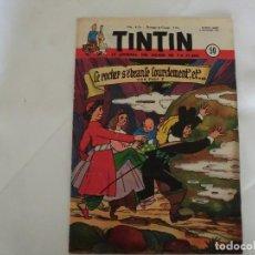 Cómics: TINTIN LE JOURNAL DE JEUNES DE 7 A 77 ANS 6º ANNÉE 1951 Nº 50.ED.BELGA. Lote 125678211