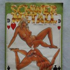 Cómics: SCHNWER METAL N°84 REVISTA TEBEOS. Lote 126561691