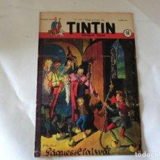 Cómics: TINTIN LE JOURNAL CHAQUE JEUDI. 5º ANNÉE 1950 Nº14 .ED.BELGA. Lote 126851779