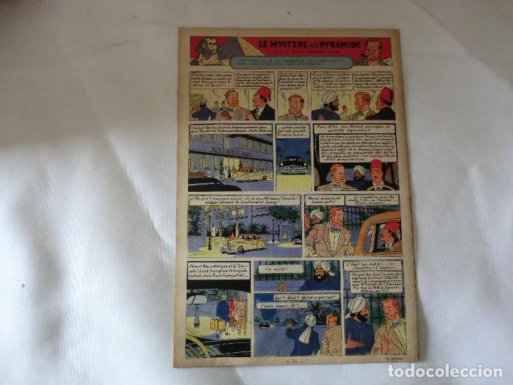 Cómics: TINTIN LE JOURNAL CHAQUE JEUDI. 5º année 1950 Nº14 .ED.BELGA - Foto 2 - 126851779