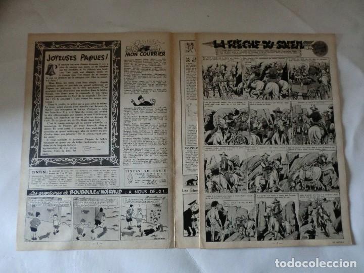 Cómics: TINTIN LE JOURNAL CHAQUE JEUDI. 5º année 1950 Nº14 .ED.BELGA - Foto 3 - 126851779
