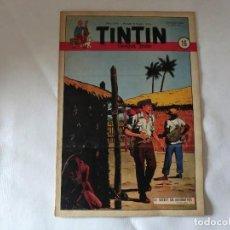 Cómics: TINTIN LE JOURNAL CHAQUE JEUDI. 5º ANNÉE 1950 Nº16 .ED.BELGA. Lote 126852019