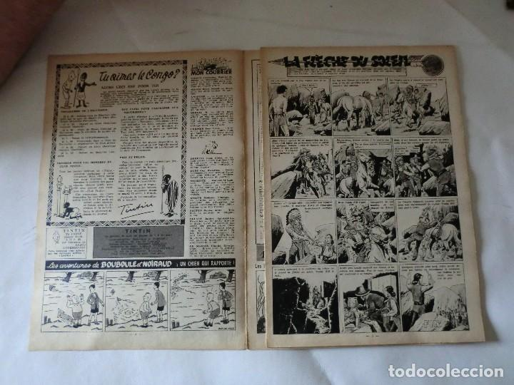 Cómics: TINTIN LE JOURNAL CHAQUE JEUDI. 5º année 1950 Nº16 .ED.BELGA - Foto 3 - 126852019