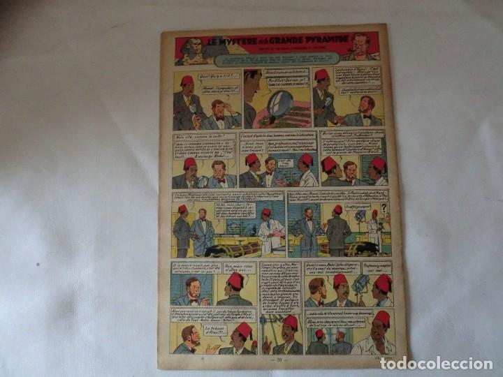 Cómics: TINTIN LE JOURNAL CHAQUE JEUDI. 5º année 1950 Nº18 .ED.BELGA - Foto 2 - 126852131