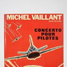 Cómics: CÓMIC DE TAPA DURA EN FRANCÉS - MICHEL VAILLANT / CONCERTO POUR PILOTES - EDIT. DARGAUD - AÑO 1968. Lote 127087919