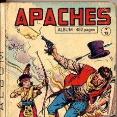 Cómics: ALBUM APACHES (FLECHA ROJA) SANCHEZ AVIA EN FRANCÉS - ALBUM Nº 13 - 492 PGS - CONTIENE 2 NUMEROS. Lote 127555479
