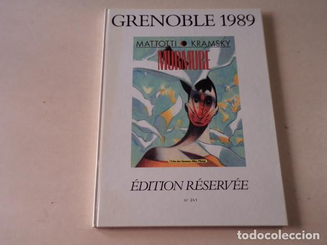 MURMURE - MATTOTTI/KRAMSKY - ÉDITION RESERVÉE Nº 241/1000 (Tebeos y Comics - Comics Lengua Extranjera - Comics Europeos)