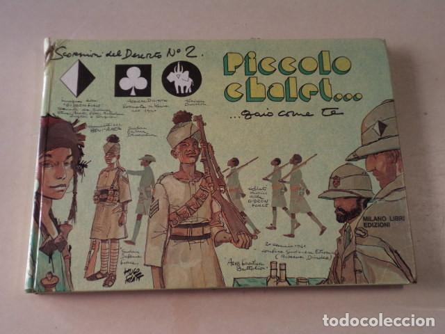 SCORPIONI DEL DESERTO Nº 2 - HUGO PRATT - 1ª EDICIÓN ITALIANA Nº 1963/5000 - AÑO 1976 (Tebeos y Comics - Comics Lengua Extranjera - Comics Europeos)