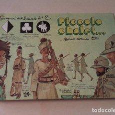 Cómics: SCORPIONI DEL DESERTO Nº 2 - HUGO PRATT - 1ª EDICIÓN ITALIANA Nº 1963/5000 - AÑO 1976. Lote 128354323