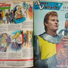 Cómics: 25 REVISTAS JUVENILES. AMES VAILLANTES. EDIT. COEURS VAILLANTS. FRANCIA. 1962.. Lote 128509747