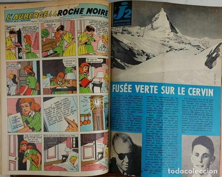 Cómics: 25 REVISTAS JUVENILES. AMES VAILLANTES. EDIT. COEURS VAILLANTS. FRANCIA. 1962. - Foto 4 - 128509747