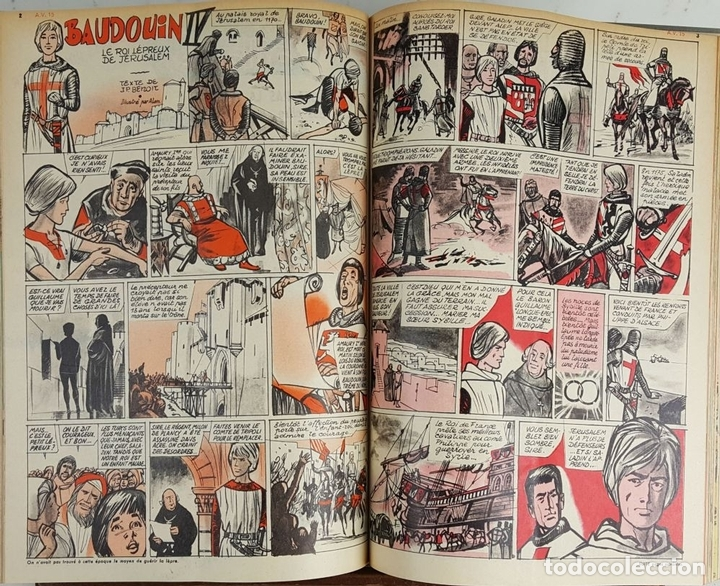 Cómics: 25 REVISTAS JUVENILES. AMES VAILLANTES. EDIT. COEURS VAILLANTS. FRANCIA. 1962. - Foto 5 - 128509747
