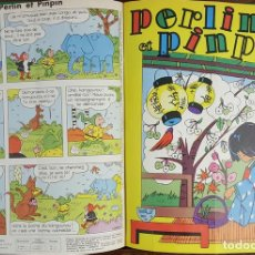 Cómics: PERLIN ET PINPIN. COLECCION DE 50 NÚMEROS. EDIT. COEURS VAILLANTS. 1962/1963. . Lote 128513303