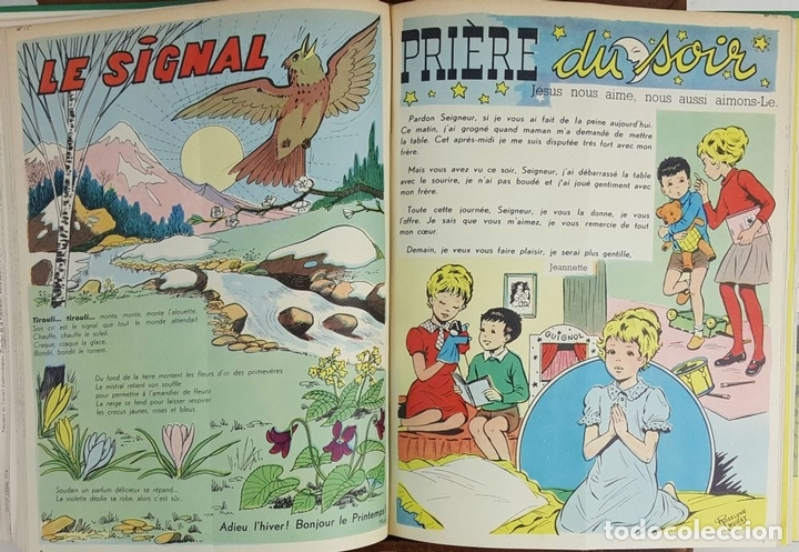 Cómics: PERLIN ET PINPIN. COLECCION DE 50 NÚMEROS. EDIT. COEURS VAILLANTS. 1962/1963. - Foto 8 - 128513303